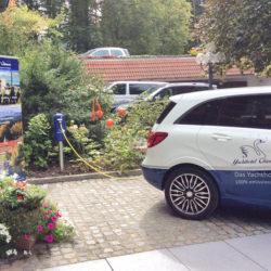 mobil Strom Chiemgau - Ladestationen am Yachthotel in Prien